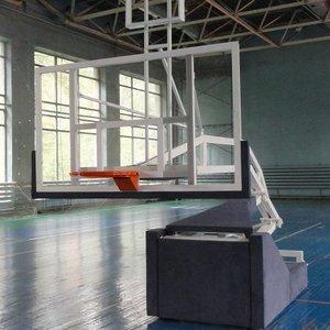 Баскетбольная стойка профессиональная мобильная