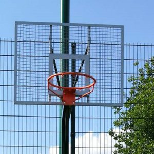 Баскетбольный щит 1200х900 мм антивандальный