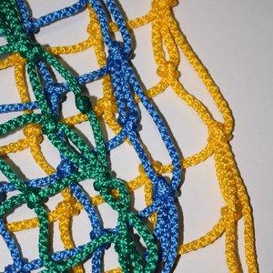 Сетка оградительная 60х60 цветная
