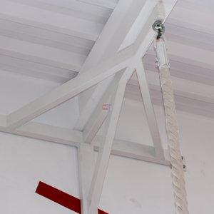 Система крепления под гимнастические кольца или канат