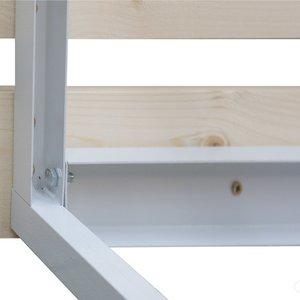 Скамейка приставная для раздевалок 1 м
