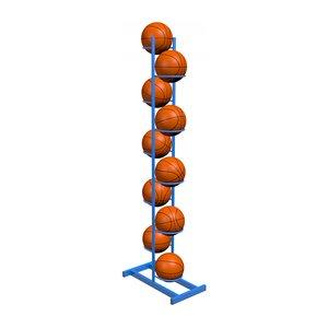 Стойка на 10 мячей двусторонняя