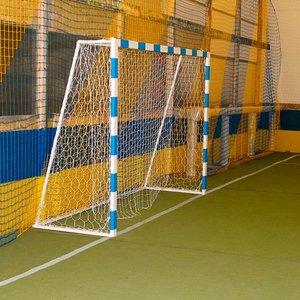 Ворота для футбола 2500х1700 мм с полосами