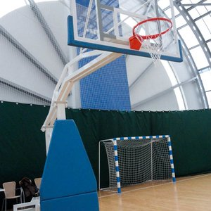 Баскетбольная стойка мобильная складная тренировочная
