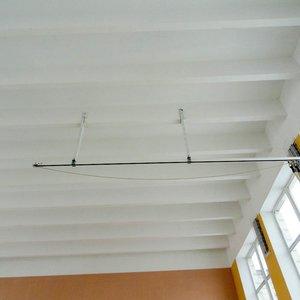 Монорельса для канатов потолочная