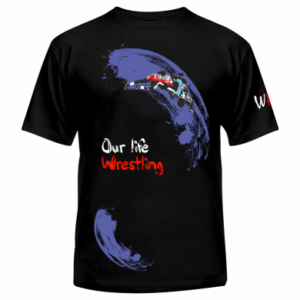 Спортивная футболка our life Wrestling