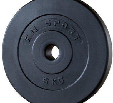 Набор RN-Sport штанга 110 кг с гантелями + гриф W-образный 100х4gr