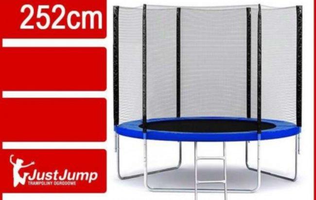 Батут Just Jump 252 см с сеткой