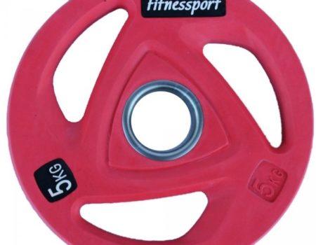 Диск олимпийский для штанги 1,25-25 кг Fitnessport RCP20