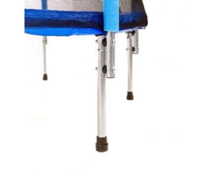 Батут Atleto 140 см с сеткой синий