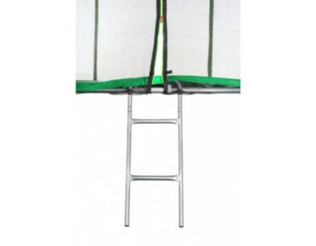 Батут Atleto 490 см с двойными ногами зеленый