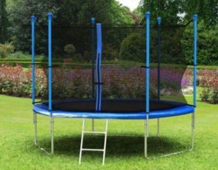 Батут Fun Jump 490 см + лестница . До 180 кг нагрузка