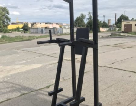 Комбинированный станок Усиленный KOMBOMT Мега Турник Black