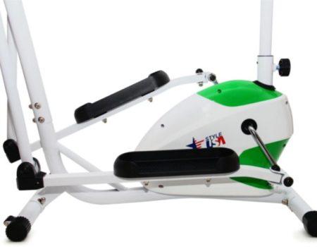 Орбитрек с сиденьем USA Style SS-771B магнитный Зеленый + Подарок