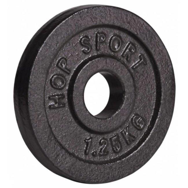 Диск металлический Hop-Sport 1,25кг