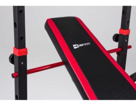 Скамья для жима с тягой и тренажерами + штанга 75 кг RN-Sport