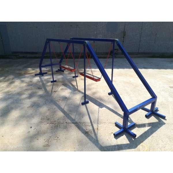 Уличный спорткомплекс Бревно-ходули