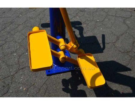 Уличный силовой тренажер Степпер-Разгибатель бедра RM-06