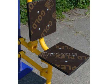 Уличный тренажер Жим сидя от груди RM-02