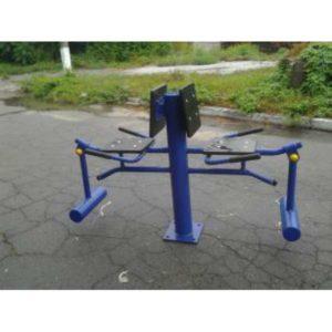 Уличный тренажер Разгибатель бедра Двойной RM-18