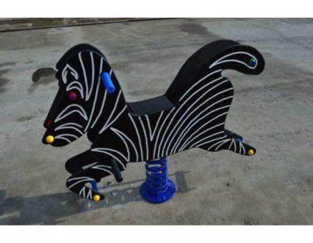Качалка-балансир на пружине Зебра