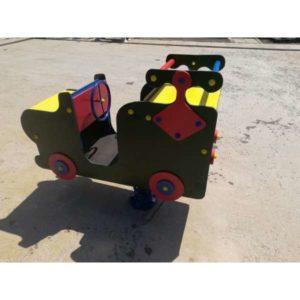 Качалка-балансир на пружине Машинка