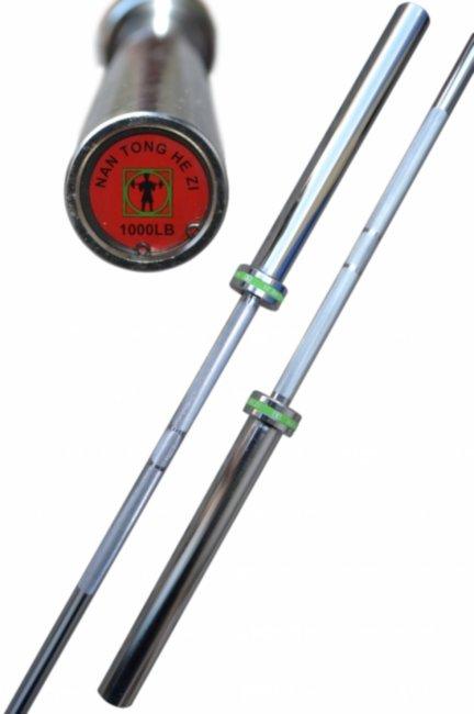 Гриф олимпийский, хромированный 2.2 метра - 20 кг - 50 мм - до 450 кг