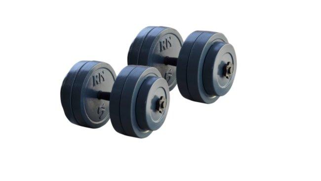 Разборные гранилитные  гантели по 26 кг - 2 шт