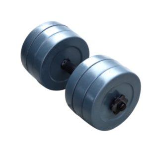 Разборная гранилитная гантель 15 кг - 1 шт