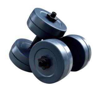 Гантели RN-Sport гранилитные по 10 кг (GD-10)