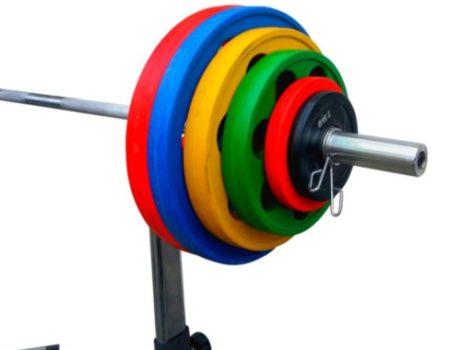 Диск олимпийский обрезиненный  alex 20 кг