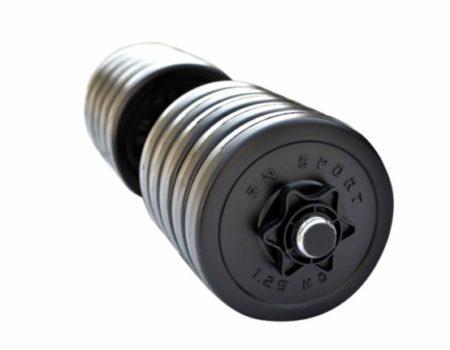 Гантель разборная RN-Sport Long 13 кг