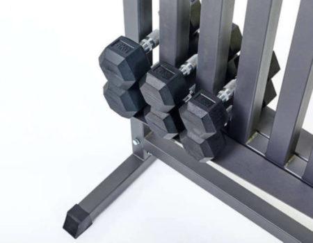 Подставка под гантели для фитнеса на 80шт RK2506L (металл, р-р 107х68х105см)