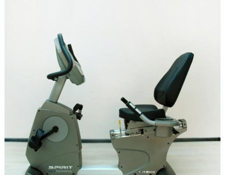 Горизонтальный велотренажер Spirit CR800