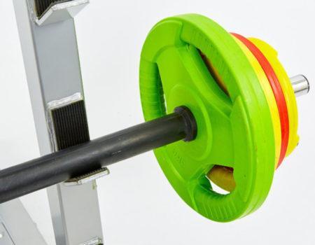 Подставка (стойка) для штанг и грифов TA-8216 (металл, р-р 90х85х127см)