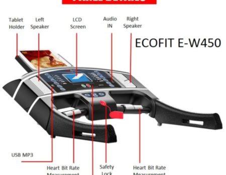 Беговая дорожка электрическая Ecofit E-W450 (14805)