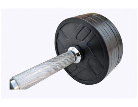 Гантель обрезиненная наборная 9 кг Rn-Sport