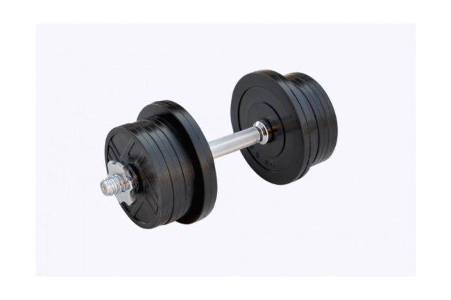 Гантель обрезиненная наборная 13 кг Rn-Sport