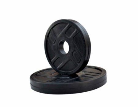 Гантель обрезиненная наборная 15 кг Rn-Sport