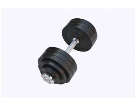 Гантель обрезиненная наборная 20 кг Rn-Sport