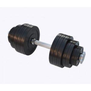 Гантель обрезиненная наборная 23 кг Rn-Sport