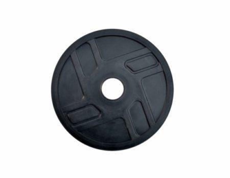 Диск RN-Sport стальной обрезиненный 0,5 кг - 27 мм