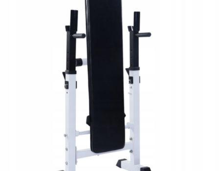 Скамья для жима 3 в 1 WCG 2020 + Штанга + Гантели Набор Premium 70 кг + Гиря 10 кг в Подарок