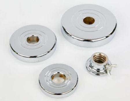 Гантели разборные хромированные по 10 кг TA-8055-20
