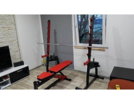Скамья для жима Marbo Sport MS-L102, регулируемая