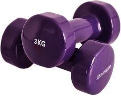 Гантели Vinyl SPART DB2113-3 Purple 3 кг