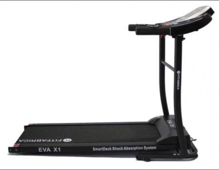Электрическая беговая дорожка FITFABRICA EVA X1, Встроенные динамики, AUX