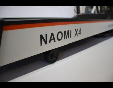 Беговая дорожка NAOMI X4, Сенсорная, AUX, USB, Браузер Chrome, 4 динамика