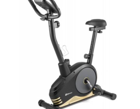 Велотренажер Hop-Sport HS-2080 Spark черно-золотистый (2020)