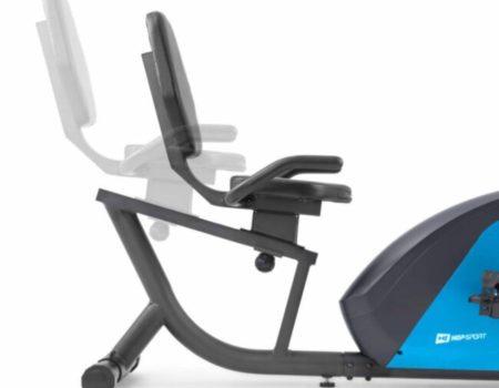 Горизонтальный велотренажер Hop-Sport HS-035L Solo синий